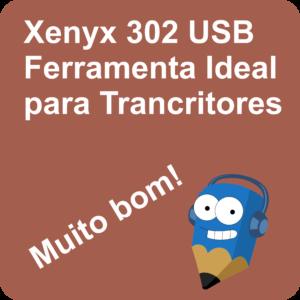 Lápis Azul Xenyx 302 USB Ferramenta Ideal para Trancritores