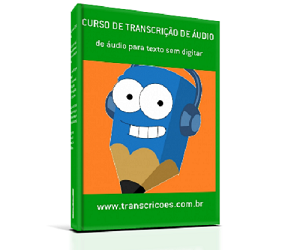 Curso de Transcrição - como transcrever sem digitar - Livro formato A5 com 108 páginas / 75g off-set / preto e branco