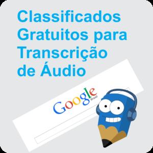 Lápis Azul Classificados Grátis para Transcrição de Áudio