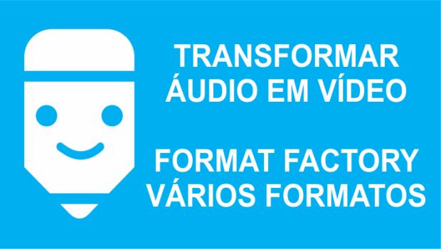 passos para transformar vídeo em áudio