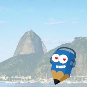 Lápis Azul Rio de Janeiro png