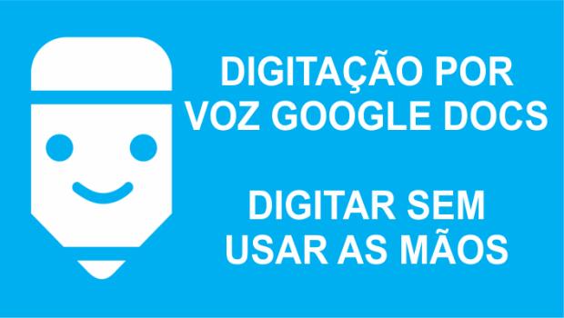 digitação por voz google e transcricao de audio