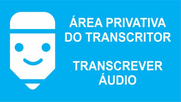transcrever áudio em texto
