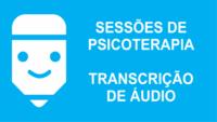 Psicoterapia e transcrição de áudio