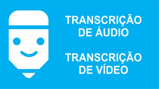 o que é transcrição de áudio e de vídeo