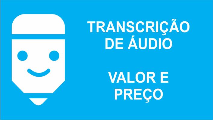 Valor da Transcrição de Áudio