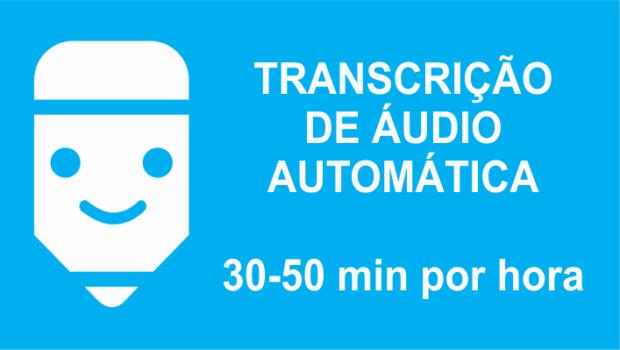 transcrição automática de texto